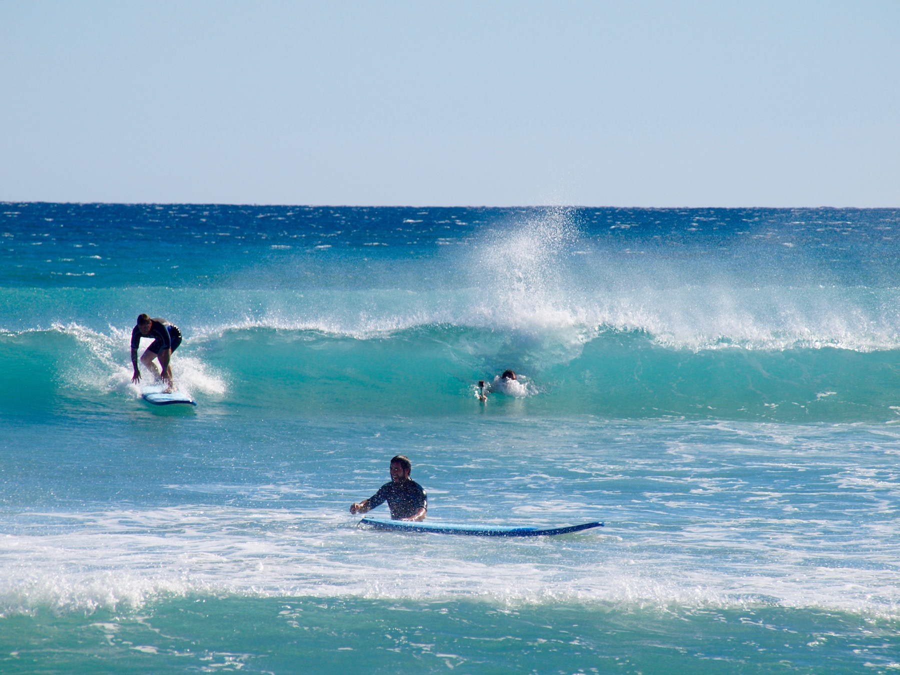 Learn to Surf, Surfboard Hire, Surf Lessons, Beginner, Intermediate, Soft Surfboards, Exmouth, Western Australia, Ningaloo Reef