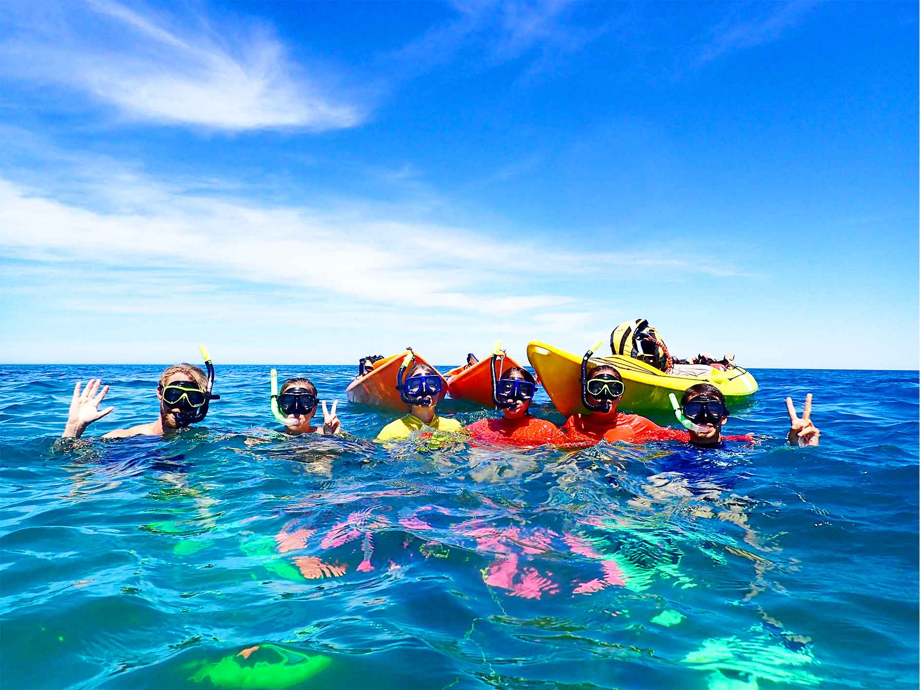 Turtle Tour, Sea kayak and snorkel tour, eco tour, exmouth adventure co, exmouth, western australia, wa, ningaloo reef, coral coast