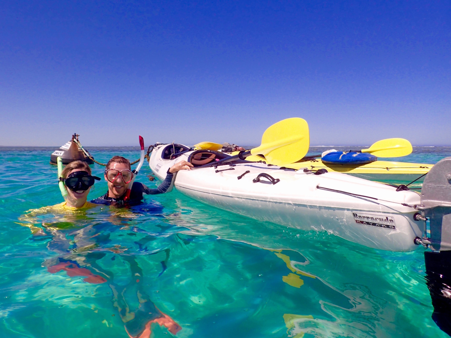 Sea kayak, Snorkel, Eco Tour, Ningaloo Reef, Exmouth, Western Australia, Cape Range National Park