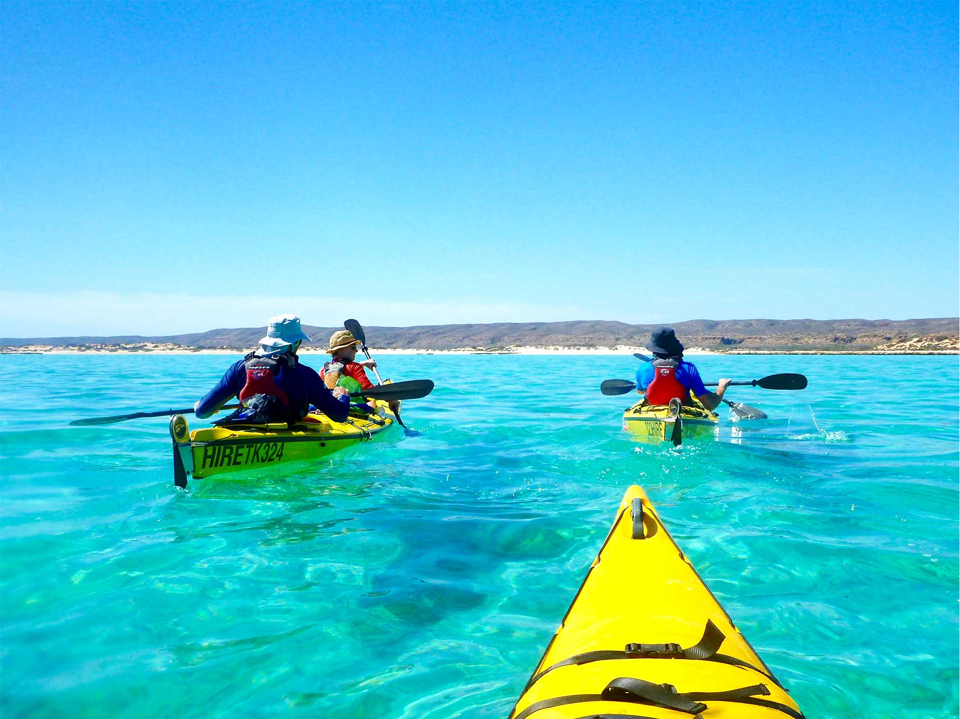 Sea Kayak Ningaloo, sea kayak, kayak, snorkel, eco tour, guided tour, Ningaloo Reef, Exmouth, Western Australia, Exmouth Adventure Co, Cape Range National Park, Coral Coast