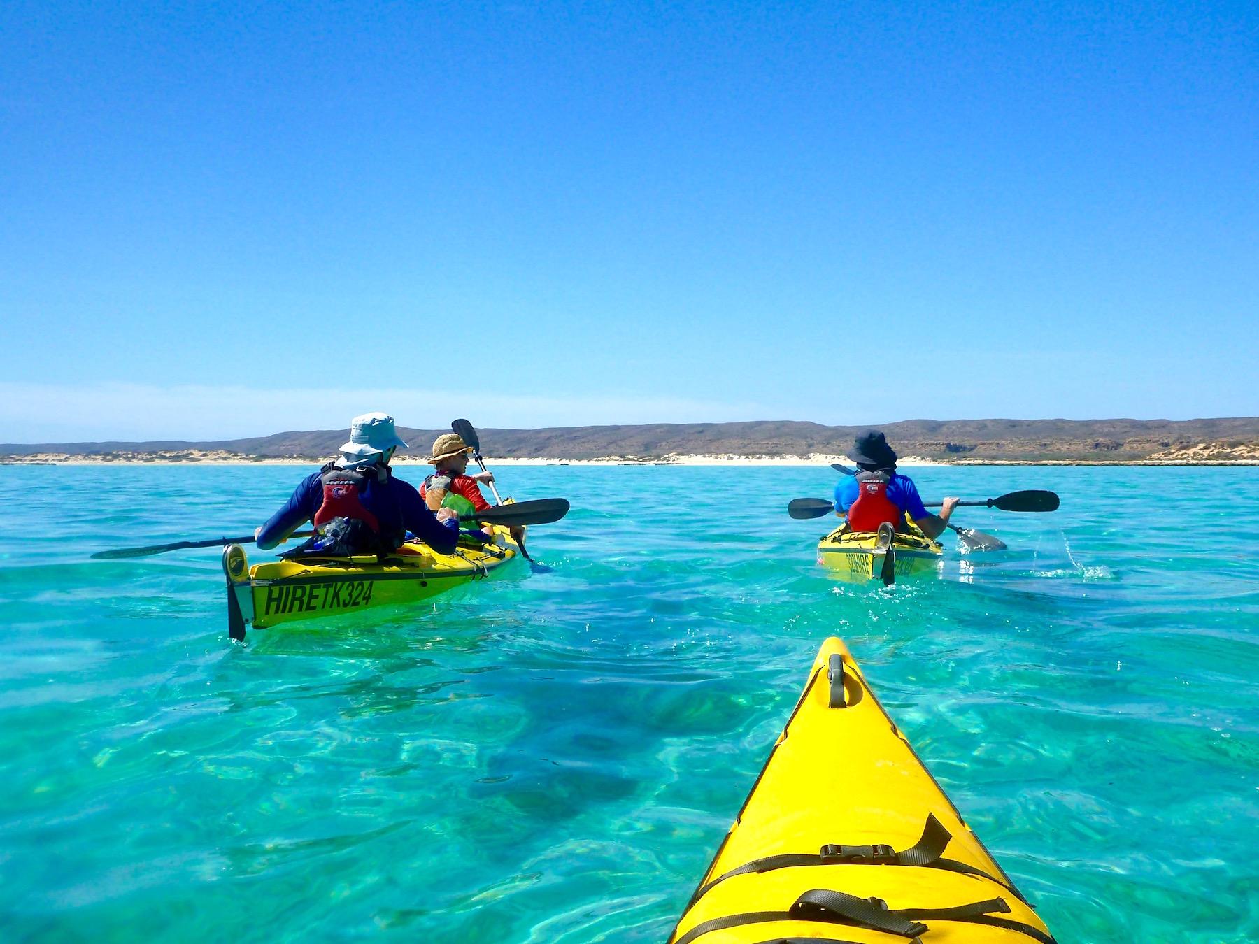 Sea Kayak Ningaloo, sea kayak, kayak, snorkel, eco tour, guided tour, Ningaloo Reef, Exmouth, Western Australia, Exmouth Adventure Co, Cape Range National Park, Coral Coast