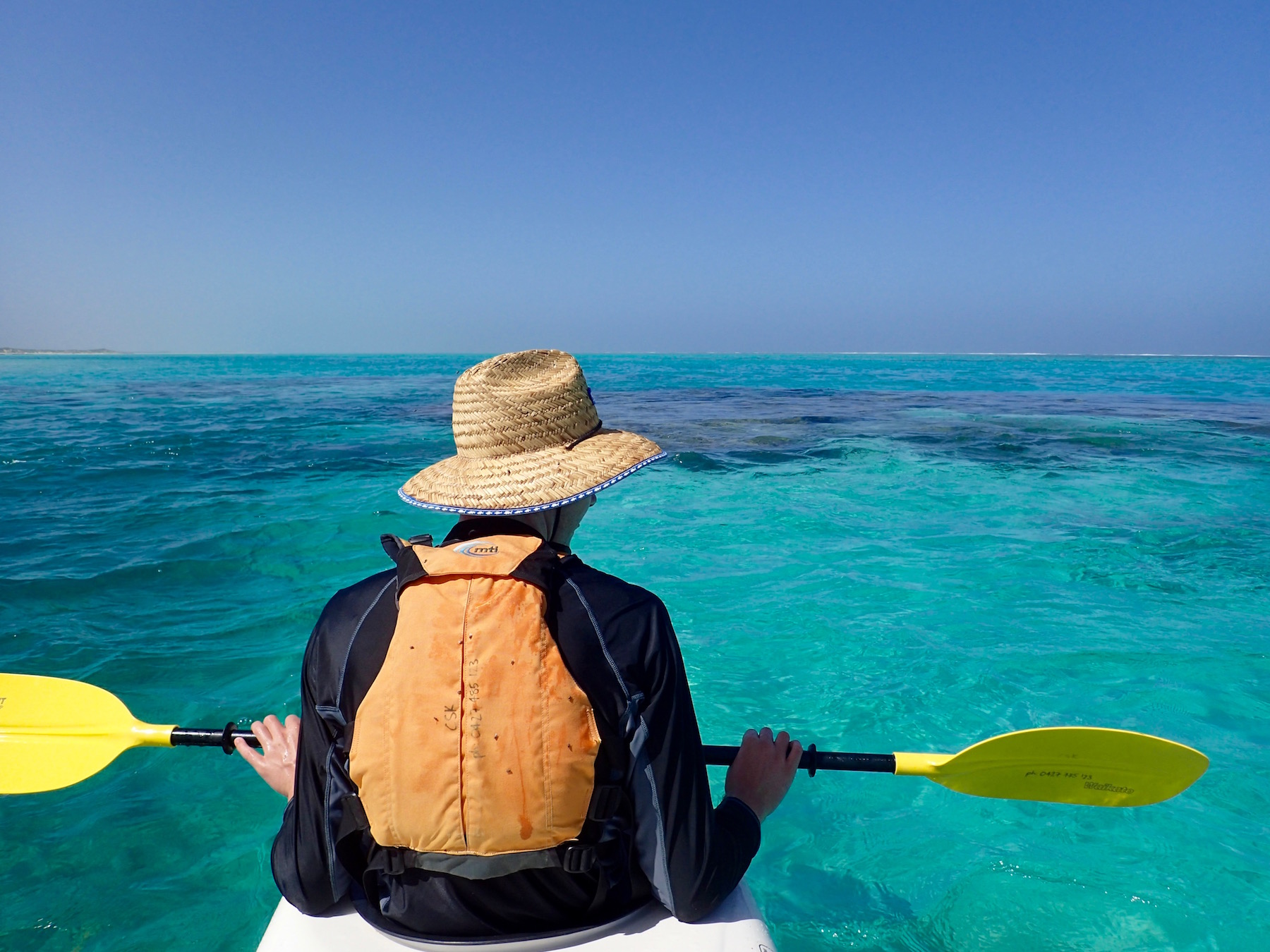 Lagoon Explorer, sea kayak, snorkel, eco tour, Exmouth Adventure Co, Exmouth, Western Australia, Ningaloo Reef, Coral Coast, Cape Range National Park