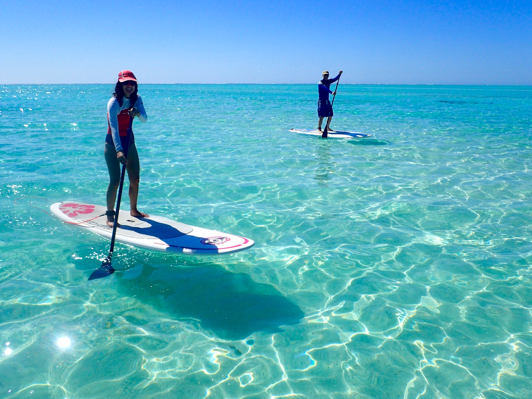 Big Day Out, Sea kayak, snorkel, stand up paddle, stand up paddle board, SUP, Ningaloo Reef, Ningaloo, Exmouth, Western Australia, Exmouth Adventure Co, Coral Coast, Cape Range National Park, SUP Lesson, SUP tour