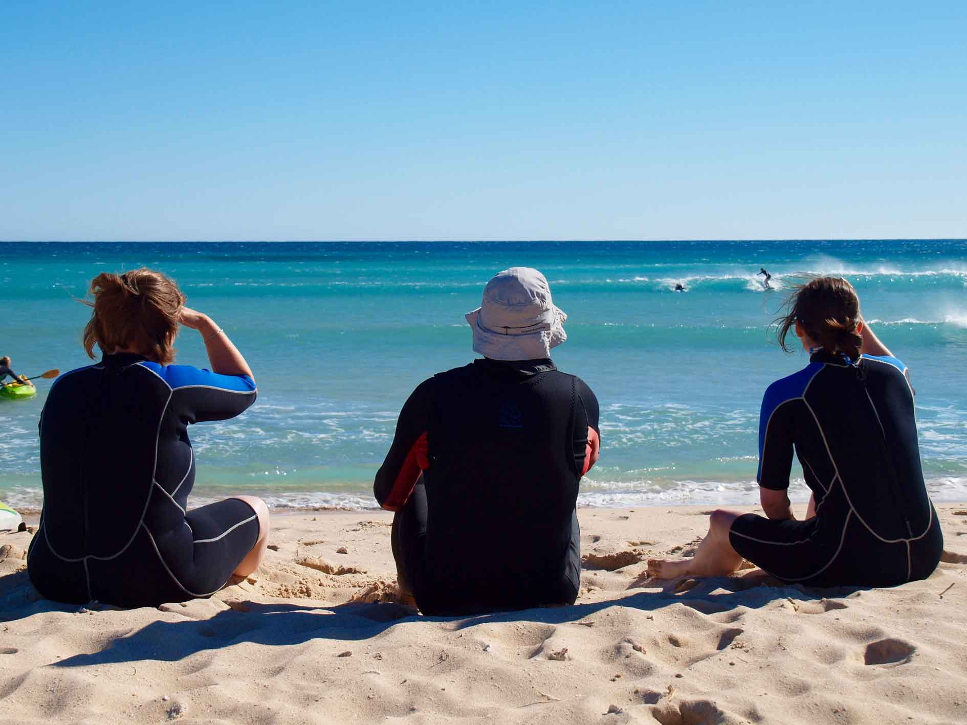 Learn to surf Exmouth, beginner surf lesson Ningaloo Reef